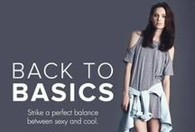 BACK TO BASICS / Up your fashion game by going back to the basics! Get versatile pieces for whenever, wherever.  SHOP HERE --> http://zlrph.com/TO36bq