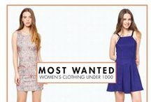 UNDER 1K MOST WANTED / Get top picks for under a thousand with our most wanted list!  SHOP HERE --> http://zlrph.com/1nFysNg  Need help? Call us at 858-0777 or email us at customer@zalora.com.ph, thank you!