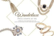 WANDERLUXE ♥ / Shimmer and dazzle with the latest accessories from SOMETHING BORROWED!  SHOP HERE - http://zlrph.com/1maXtiS  Need help? Call us at 858-0777 or email us at customer@zalora.com.ph, thank you!