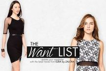 THE WANT LIST / Get your wardrobe an update with our want list. Top picks from EZRA by ZALORA's latest!  SHOP HERE - http://zlrph.com/1uoTFzX  Need help? Call us at 858-0777 or email us at customer@zalora.com.ph, thank you!