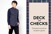 DECK the CHECKS / Man the decks with these check prints! Checks is a timeless go to print! Own Check. Own Print. #OWNNOW  GET THEM HERE - http://zlrph.com/VhH5SU  Need help? Call us at 858-0777 or email us at customer@zalora.com.ph, thank you