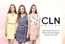 CELINE / Add some color pop with the latest dresses from CLN! Click here: http://zlrph.com/1BstTvJ to start shopping CLN!  Lost? Call us at 858-0777 or email us at customer@zalora.com.ph