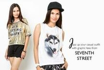 SEVENTH STREET / Get bold looks with the latest ftops rom SEVENTH STREET here: http://zlrph.com/1kQ8c3q