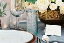 TABLESCAPES / RECEPTION TABLES, CETNRE PIECES, FLOWERS, PLACE SETTINGS, DECOR