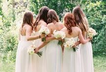 BRIDESMAIDS / BRIDESMAIDS FASHION. DRESSES HARISTYLES PHOTOS