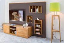 livingroom / wohnraum / living room solutions, TV wall systems