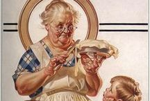 Sweetie Pie / I'll get the plates, knife, forks and cold milk / by Janice D Adair