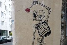 """Street Art / """"Everyone has to scratch on walls somewhere or they go crazy"""" -Michael Ondaatje"""
