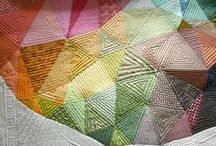 Patchwork and Quilting. / For inspiration. For tutorials. Just to look at. / by Ray Stitch