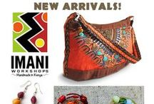 The Imani Collection / Welcome to the Imani Collection, featuring handcrafted jewelry, accessories, toys, paper and home goods from the skilled artisans of Imani Workshops. Imani is a fair trade group providing sustainable income opportunities to HIV-positive artisans in Kenya. Available at globalgiftsft.com
