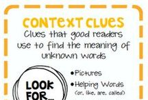 Reading: Context Clues / by Rachael Aldrich