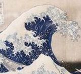 ART - Estampes / On peut bien sûr voyager au Japon en photos, mais les estampes japonaises traditionnelles sont aussi un beau moyen de découvrir le pays, son histoire et sa sensibilité.