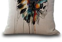 Pillows / Fun, unique and cool pillows for the coziest spaces. Great gifts and home decor accessories.
