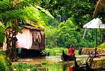 Breathtaking Kerala / I have discovered so much of India yet Kerala is somewhere I've never yet visited. I can't wait for the day when I'm lucky enough to see the famous backwaters, enjoy the luscious beaches and get lost in the greenery and freshness.