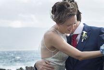 WABI SABI WEDDINGS ~ DON'T FORGET ME / Se enamoraron de Galicia y vinieron a casarse desde Madrid .  DON'T FORGET ME, una boda entre calas y nomeolvides .