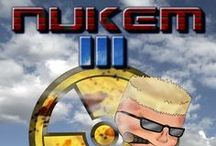 Duke Nukem III / Duke Nukem and II, in apogee software, 1991 duke nukem, 1993 duke nukem II, hm is to progess duke nukem III