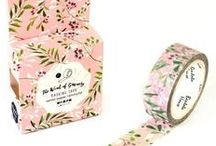 Our Washi Tapes / Washi tapes are super fun! Discover all their uses with us.