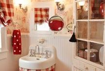 Bathroom Adventures / So many cute bathrooms , what a adventure taking a bath in some cute and fun bathrooms :) / by Tammy Welch