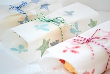 Wrap It Up ~n~ Tags / Everyone loves a fun loving wrapped up present :)  / by Tammy Welch