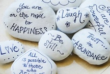 Inspirational Stones ~n~ Tokens / I have always had a love for these little stones  / by Tammy Welch