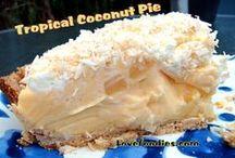 Pie's & Cobbler's & Pie Crust recipe's / by Sheila Monhollen