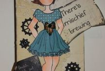 ~Prima Doll Stamps n Tags ~ / by Tammy Welch