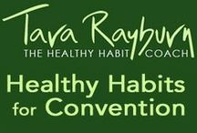 Healthy Habits for Convention / When you are traveling and attending or speaking at a convention or workshop there are simple, do-able habits to keep you uplifted and healthy. Here are a few to choose from the National Speakers Association Conventions we attend every year