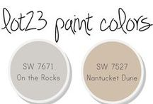 Paint the walls / great paint colors to try in the home