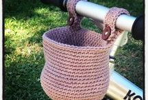 Knit & Crochet-Bags, Boxes, Baskets & Bowls / by Bonnie Timbrook