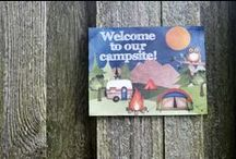 Camping Party / Fun camping party ideas. Great ideas for camping themed birthday parties or for actually going camping!
