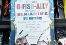 Fishing party / All sorts if fun ideas for throwing a fishing themed party