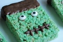 Frankenstein Party Ideas / Everything frankenstein! Fun treats, crafts and party ideas all resembling one of our favorite green monsters.
