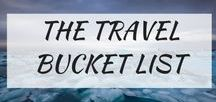 The Ultimate Travel Bucket List / Places to see and things to do that needs to be on everyone's bucket list. A collection of the best adventures to suit anyone and everyone!