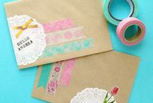 Snail Mail Inspiration/Paper Etc. / Sending letters, love notes and the like.