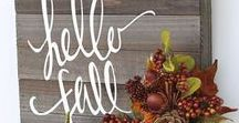 Fall Decor & Accessories / What makes you think of Fall? Falling leaves, walks in the forest, hot chocolate, s'mores, Halloween? The nights draw in and we start to cuddle up in warm blankets in our houses, before we know it the Trick or Treaters are knocking.