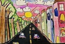 Kids Art Ideas / by Kate Teague (Create,Kate,Create )