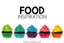 Food Inspiration / This board has all of my recipe finds! Delicious appetizers, snacks, desserts, courses, drinks and so much more!