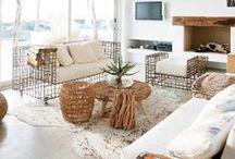 Coastal Style - White Interiors / by Melissah ~ Coastal Style