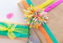 Gift Ideas/Gift Wrapping