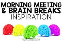 Brain Breaks and Morning Meeting / This board is all about Morning Meeting and Brain Breaks! You will find pins for greetings, games, activities, shares and more!