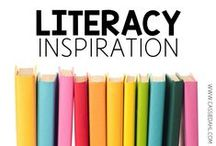 Literacy Inspiration / This board has ideas and inspiration for reading and literacy instruction including guided reading, book clubs, grammar and more!