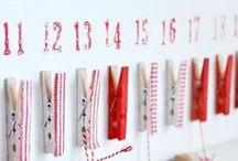 Holiday decor ideas / Its beginning to look alot like Christmas! Clever ideas for making the holidays bright....and beautiful!