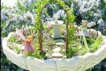backyard decor and garden ideas / by June Brosseau