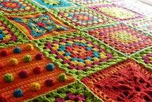 Crochet - Afghans and Blankets / by Kathleen Brown
