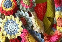 Crochet - Scarves, shawls, etc. / by Kathleen Brown