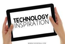 Technology Inspiration / Need some help in the tech department of your classroom? Check out these great blog posts and apps which are sure to help you out!