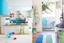 Coastal Style - Colourful / by Melissah ~ Coastal Style