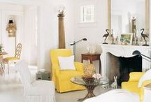 Coastal Style - Yellow / by Melissah ~ Coastal Style