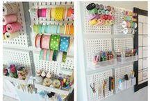 Craft Room & Craft Organization
