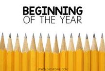 Beginning of the Year / This board contains beginning of the year ideas for your elementary classroom! Activities, classroom routines, team building, decor and more!